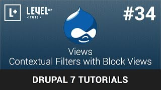 Drupal Tutorials #34 Views - Contextual Filters with Block Views