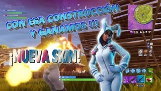 WITH THAT CONSTRUCTION AND THE LINE! ★'''CONEJA PELEADORA' ★ NEW EPIC Skin: Fortnite Battle Royale