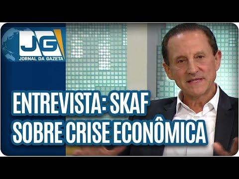Maria Lydia entrevista Paulo Skaf, presidente da Fiesp, sobre a crise econômica