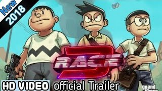 Race 3 Official Trailer Doremon Salman Khan Remo Dsouza Nobita Sizuka Version