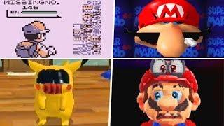 Evolution of Creepy Ninтendo Glitches (1985 - 2019)