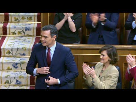 Sánchez afronta en el Congreso la jornada decisiva de investidura