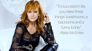 REBA McEntire Greatest Hits QUOTE (wishbone, backbone, funny bone)