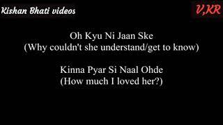 Oh Kyu Ni Jaan Ske -status (Lyrics English Translation)