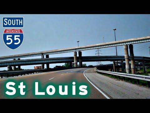 I-55 South thru Saint Louis