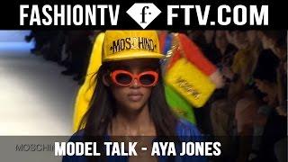 Aya Jones Model Talks FW 15/16 | FashionTV