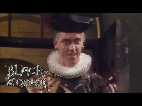 Escaping from the Germans | Blackadder II | BBC Comedy Greats