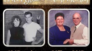 bob ellen s 50th wedding anniversary video montage