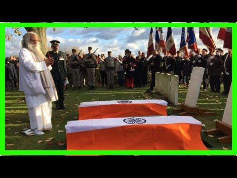 News-India ww1 soldiers laid to rest after the French mystery
