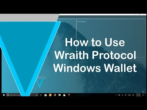 Verge Wraith QT Windows Wallet Usage and News Updates