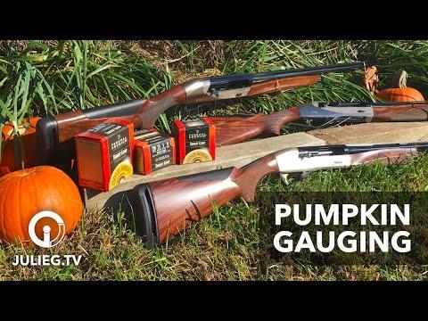 How to Gauge a Pumpkin - 12, 20 & 28 Gauge Benelli Ethos