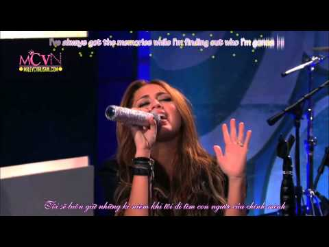 miley cyrus  wherever i go HD