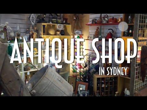 Antique Shop In Sydney - Emerson In English 2016