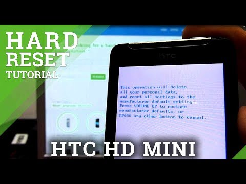 How to make Hard Reset HTC HD mini