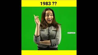 सन् 1983 में ऐसा क्या हुआ था जिसे भारत🇮🇳 आज भी याद करता है  😨🤔 #shorts #youtubeshorts