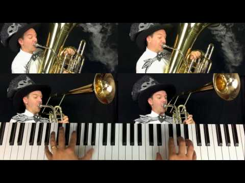 This Is Halloween (Tuba, Cimbasso and Piano Cover)