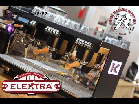 Overview Of Espresso Bar Automation Ft. Elektra KUP