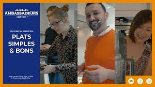 Recettes faciles au Cook Expert, Robot Kenwood, Demeyere et Four vapeur Siemens - Les Plats Ep. 2/4