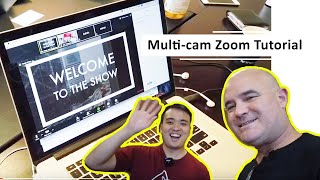 Multi cam streaming using Switcher Studio into Zoom and other video conferencing platforms