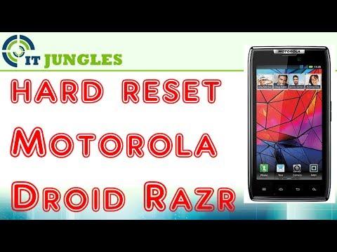 How To Hard Reset Motorola Droid Razr