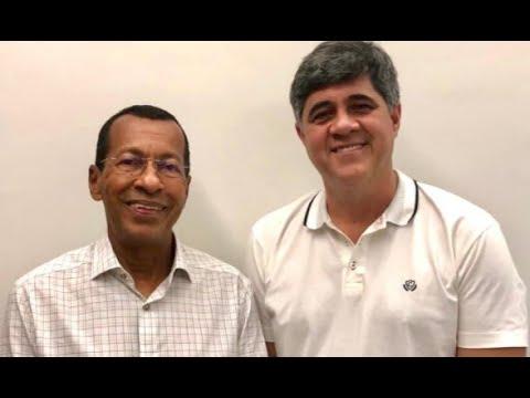 Meio-dia e meia live Genival Deolino (PSDB) prefeito eleito em SAJ e seu vice Careca (PR)