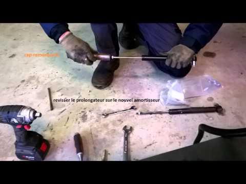 changement d 39 un kit amortisseur de commande de freins remorque youtube. Black Bedroom Furniture Sets. Home Design Ideas