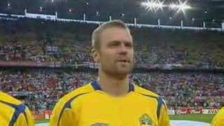 Sweden national football team against England in Worldcup 2006