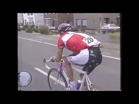 Amstel Gold Race 1997 - Bjarne Riis great solo win (highlights)