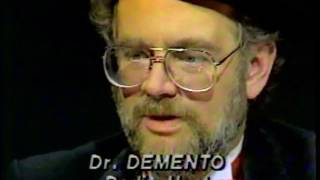 Dr. Demento on Larry King Live from 1985
