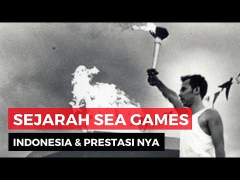 Pesta Olah Raga Asia Tenggara, Sejarah Dan Prestasi Indonesia