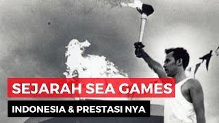 Gambar cover Pesta Olah Raga Asia Tenggara, Sejarah dan Prestasi Indonesia