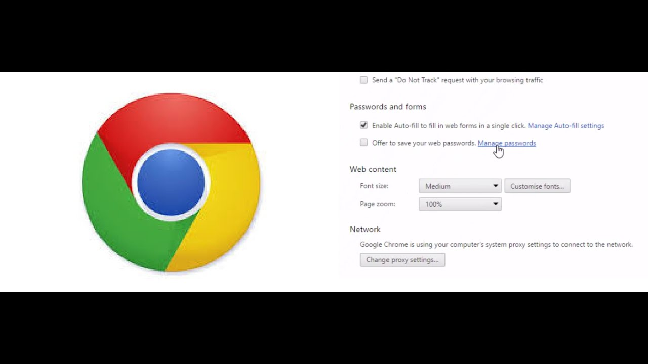 How To View Saved Username And Password In Google Chrome