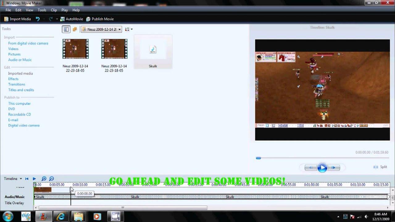 Windows Movie Maker HD For Windows 7 - YouTube