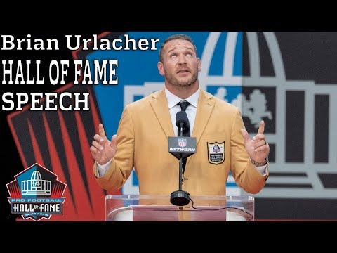 Brian Urlacher FULL Hall of Fame Speech | 2018 Pro Football Hall of Fame | NFL