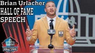 Brian Urlacher FULL Hall of Fame Speech