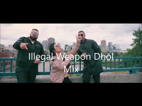 Illegal Weapon Dhol Mix | Jasmine Sandles & Garry Sandhu | 2018