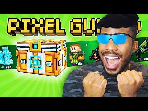 I GOT A SUPER LUCKY CHEST OPENING! L Pixel Gun 3D