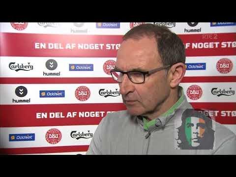Martin O'Neill post match interview Denmark 0-0 Ireland