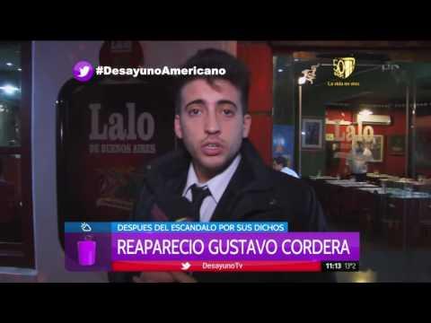 Gustavo Cordera reapareció tras sus aberrantes dichos en la facultad