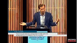 Axel Kaiser vs Andrés Velasco - Debate Desigualdad
