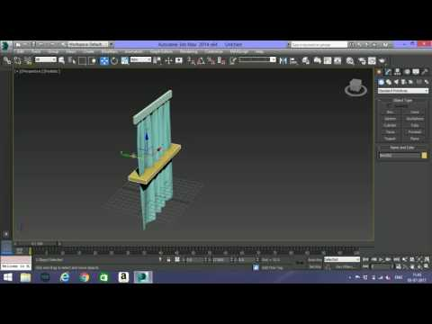CREATING A CURTAIN IN 3DS MAX