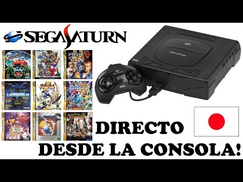 Especial Sega Saturn en Directo   Jugamos a 29 juegos, esta vez desde la consola!