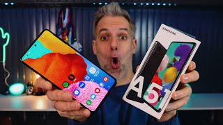 Samsung Galaxy A51 - Le Test
