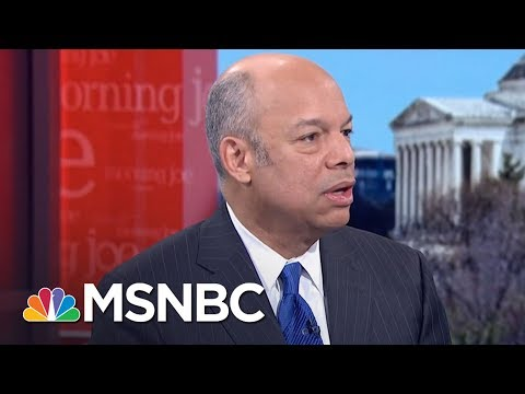 Jeh Johnson: The President Donald Trump WH Turnover Can't Be Overstated | Morning Joe | MSNBC