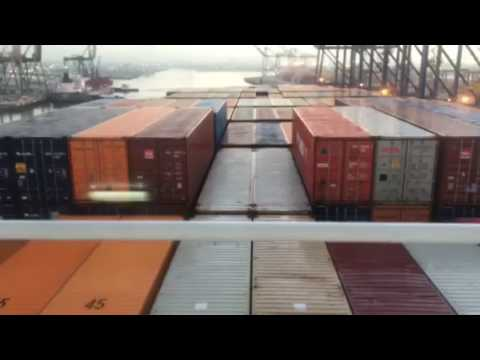 Time Lapse: NYK Atlas Arrives at the Port of Los Angeles