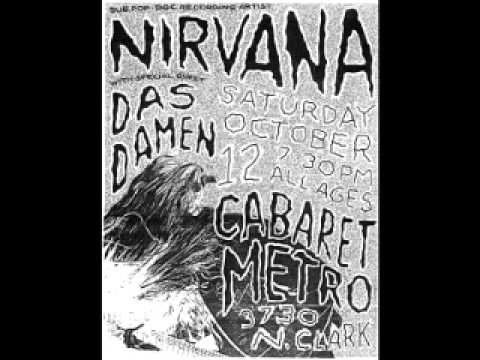 Nirvana Cabaret Metro, Chicago, IL 10/12/91 [Full Audio]