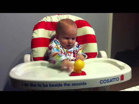 The Cosatto Noodle highchair isn't just for eating in!