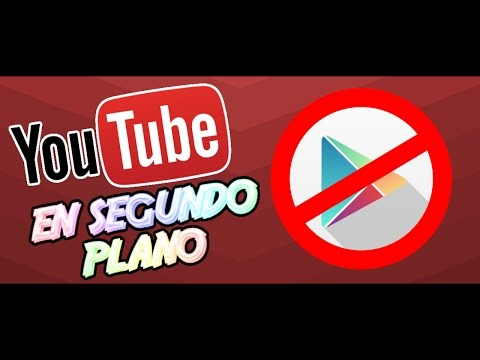YouTube en segundo plano sin aplicaciones // Andro Tech