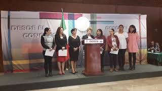 25/09/2018 Conferencia de prensa de la Dip. Graciela Zavaleta Sánchez