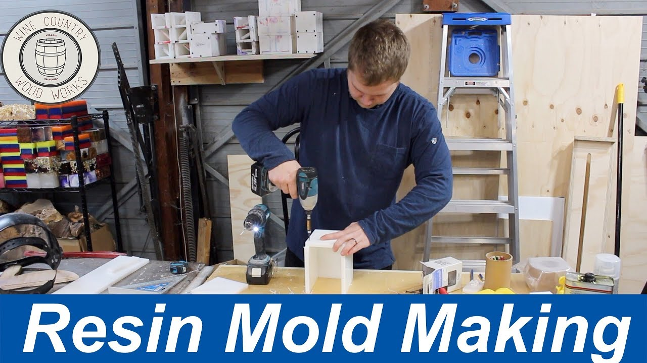 How To Make Reusable Molds for Resin Casting (Non-Stick HDPE)